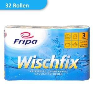 Packung Küchenrollen Wischfix von Fripa