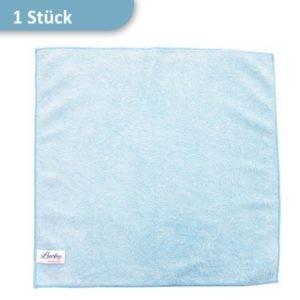 Mikrofasertuch Reinigungstuch blau