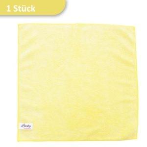 Mikrofasertuch Reinigungstuch gelb