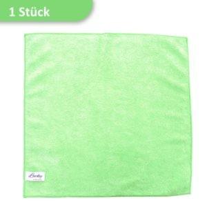 Mikrofasertuch Reinigungstuch grün