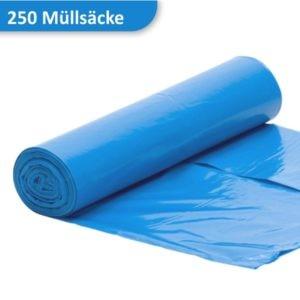 Rolle Müllsäcke in blau 120 Liter
