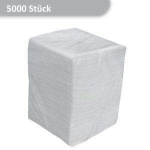 Packung günstige Prägeservietten weiß