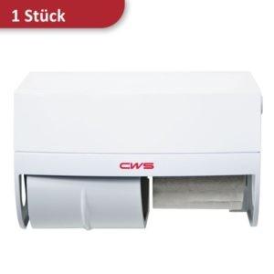 Toilettenpapierspender für 2 Rollen weiß CWS