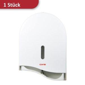 Toilettenpapierspender für Jumborollen weiß CWS