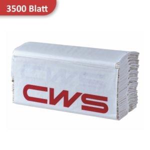 Packung Papierhandtücher 1-lagig von CWS