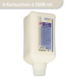 Spenderflasche mit Seife Titan Comfort