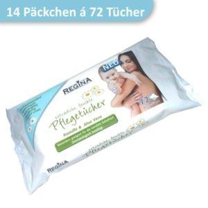 Packung Feuchttücher Baby Pflegetücher