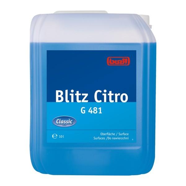10 Liter Kanister Universalreiniger BUZIL Blitz Citro G481