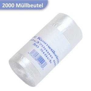 Kosmetikeimerbeutel transparent