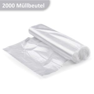 Rolle HDPE Müllbeutel transparent