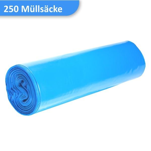 Rolle blaue Müllsäcke LDPD 70 Liter