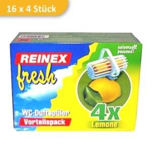 wc einhaenger toiletten duft lemon reinex 764L 1 300x300 - WC-Einhänger LEMON | Karton mit 16 Packungen á 4 Stück