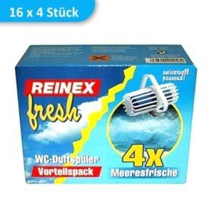 wc einhaenger toiletten duft meeresfrische reinex 764M 1 300x300 - WC-Einhänger MEERESFRISCHE | Karton mit 16 Packungen á 4 Stück