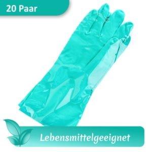 Arbeitsschutzhandschuhe / Schutzhandschuhe Nitril SÄNGER Neutron 35 grün