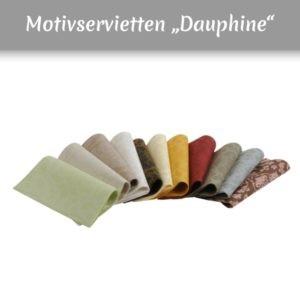 Airlaid Motivservietten in mehreren Farben mit floralem Muster