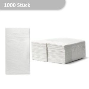 Weiße Tafelservietten