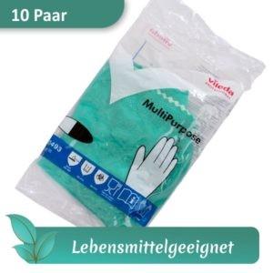 Gummihandschuhe / Mehrweghandschuhe / Haushaltshandschuhe VILEDA MultiPurpose grün lebensmittelecht