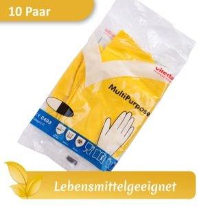 Gummihandschuhe / Haushaltshandschuhe VILEDA MultiPurpose gelb lebensmittelecht
