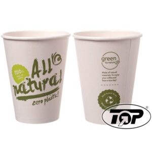 100 % Bio Kaffeebecher - im Altpapier entsorgbar