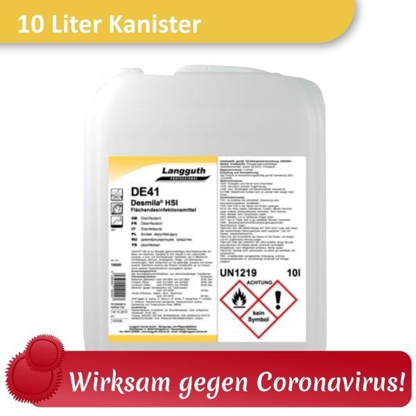 Kanister Flächendesinfektion Desmila DE41 von Langguth