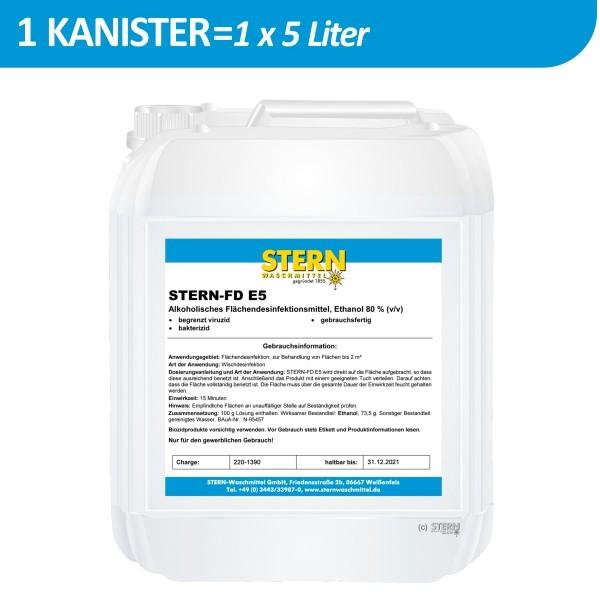5 Liter Kanister Stern FD E5