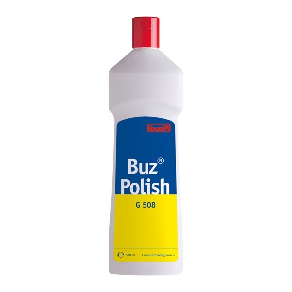 G508 buz polish 500ml - Buzil Buz Polish   Karton mit 12 Flaschen