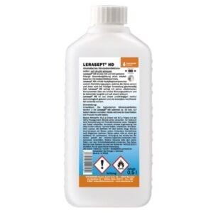 LERASEPT HD Händedesinfektion 0,5 Liter Euronormflasche