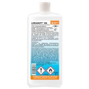 LERASEPT HD Händedesinfektion 1 Liter Euronormflasche